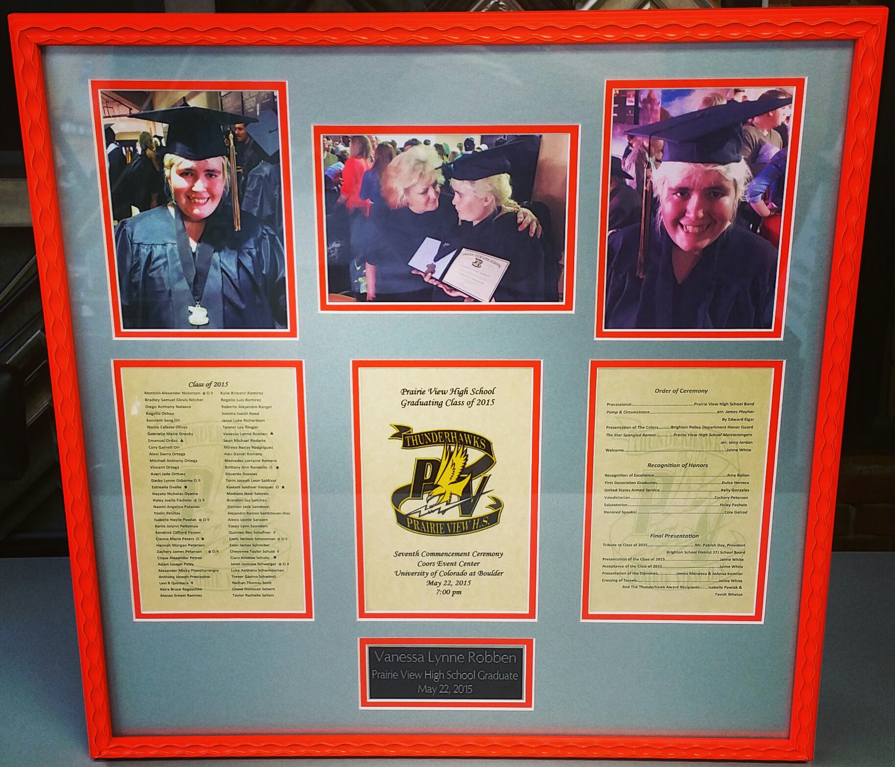 Graduation Picture Framing Denver Fastframe Of Lodo Expert