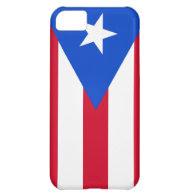 Puerto Rico Flag iPhone 5C Cases