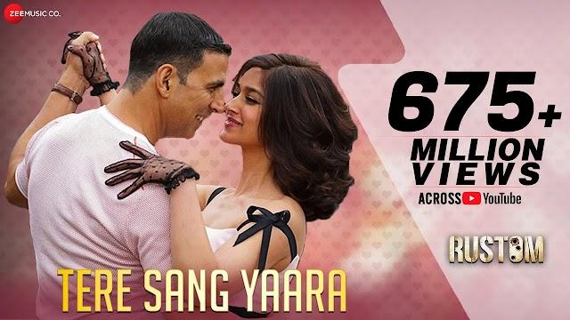Tere sang yaara lyrics - Atif Aslam   lyrics for romantic song