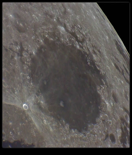 Mare Crisium, High Sun Angle - 110314 by Mick Hyde