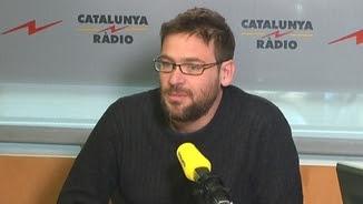 Albano Dante als estudis de Catalunya Ràdio