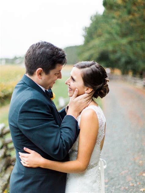 Rustic Peach & Blue North Carolina Wedding   Every Last Detail