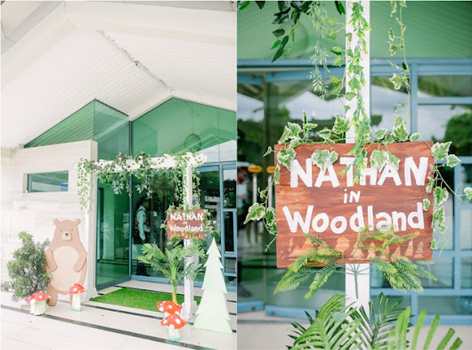 Nathan's Delightful Woodland Themed Party – 1st Birthday | Party Doll Manila