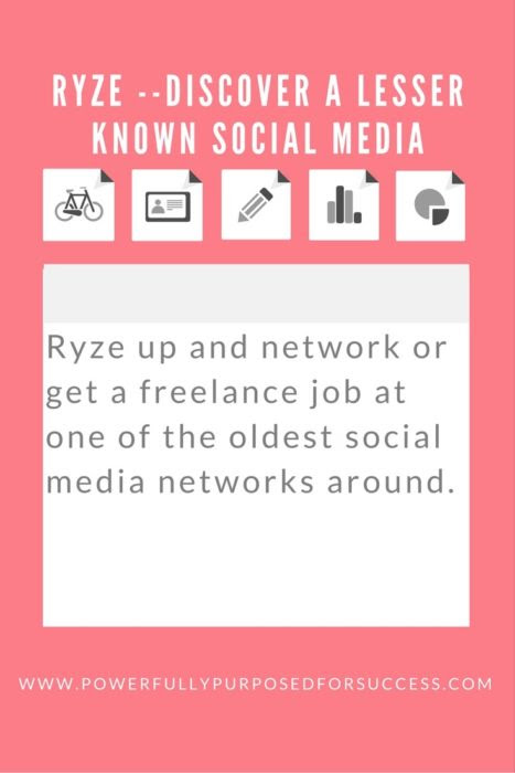 Ryze Up and Network Today! | Powerfully Purposed for Success