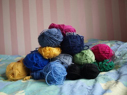 Yarn ends