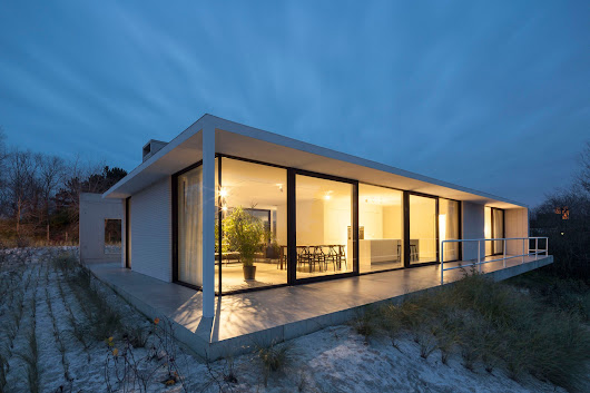 OOA | Office O Architects Design a Contemporary Villa in Oostduinkerke, Belgium