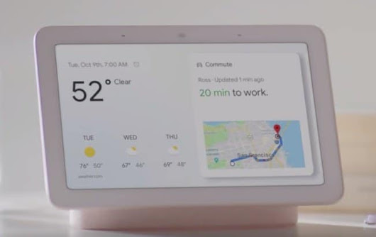Google Home Hub Officially Introduced
