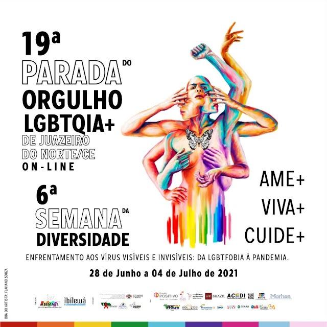 Semana da Diversidade acontece próxima semana com parada do orgulho LGBTQIA+ _on-line_