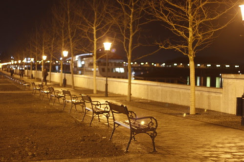 Rows of benches