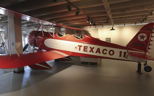 Kansas Aviation Museum dedicates newly restored Stearman Model 4D