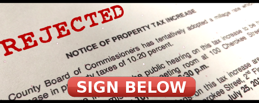 Stop the Cobb Property Tax Hike!