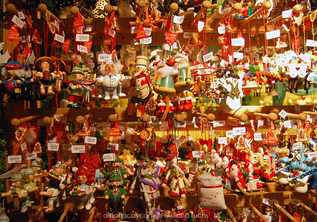 Christmas ornaments in Basel
