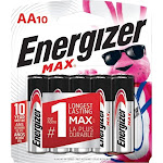 Energizer - MAX AA Batteries (10-Pack)