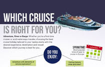 Which cruise is right for you? infographic