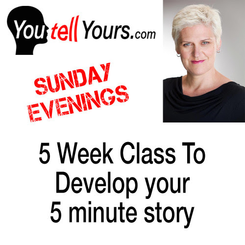 5 Week Storytelling Class: Sunday Evening, Session 2, 2016 - YouTellYours.com