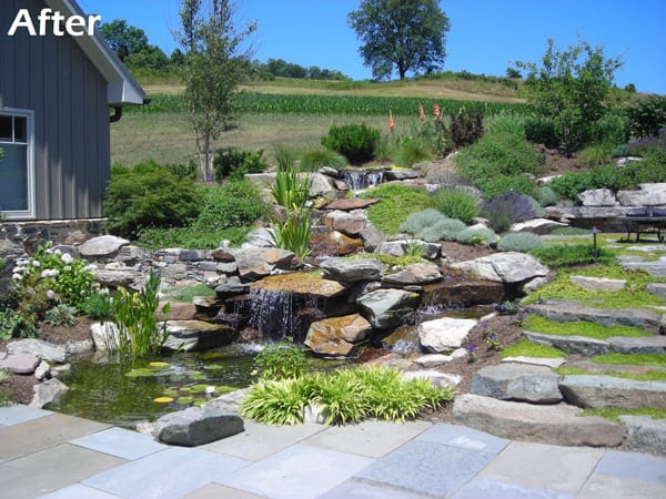 Beforeafter Landscape Design Jobs Ellicott City Md Beyond