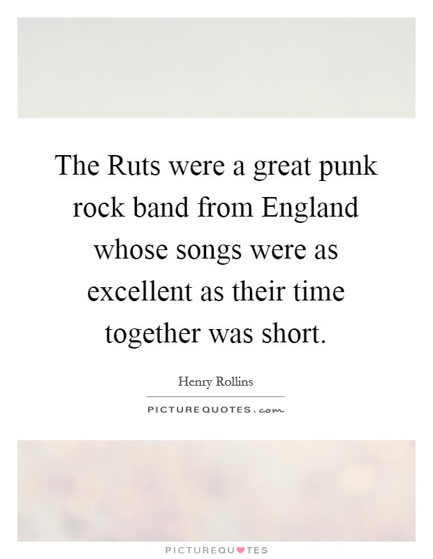 Punk Rock Quotes From Songs