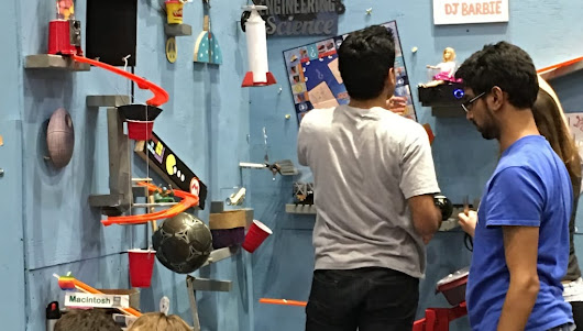 Rube Goldberg Machine Contest Puts Students' Creative Minds to Work