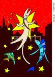 猫・魚・熱帯魚・夜景・星空・キラキラ星