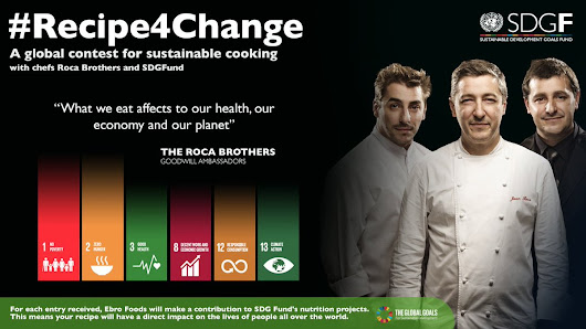 #recipe4change: A Global Contest Sustainable Cooking