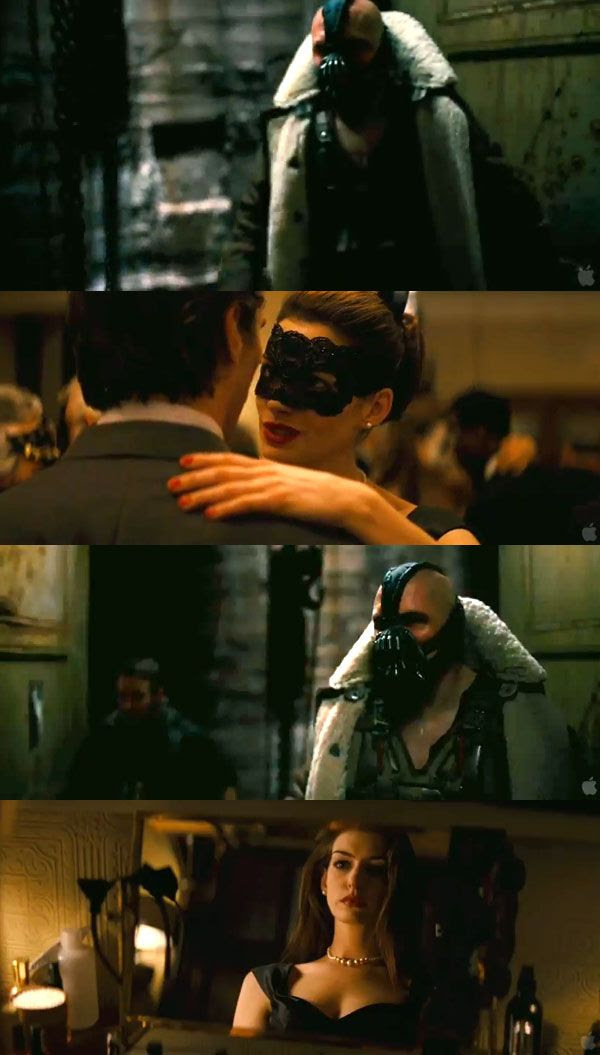 Screenshots from THE DARK KNIGHT RISES theatrical trailer.