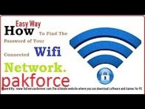 Fast and Easy way How to show connected wifi password into Windows