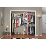 ClosetMaid 5-ft to 8-ft Closet Organizer Kit