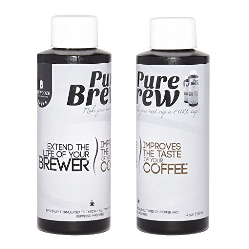 Brewooze - Purebrew Descaling Solution for Keurig 2.0 & 1.0 Brewers ,Single serve brewers, Electric ...