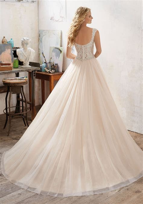 Mori lee 8126 Marigold wedding dress   Catrinas Bridal
