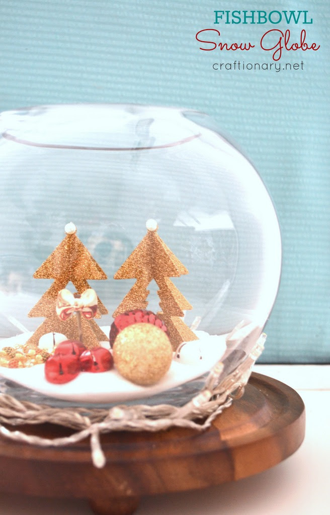 Make Your Own Snow Globes For Christmas