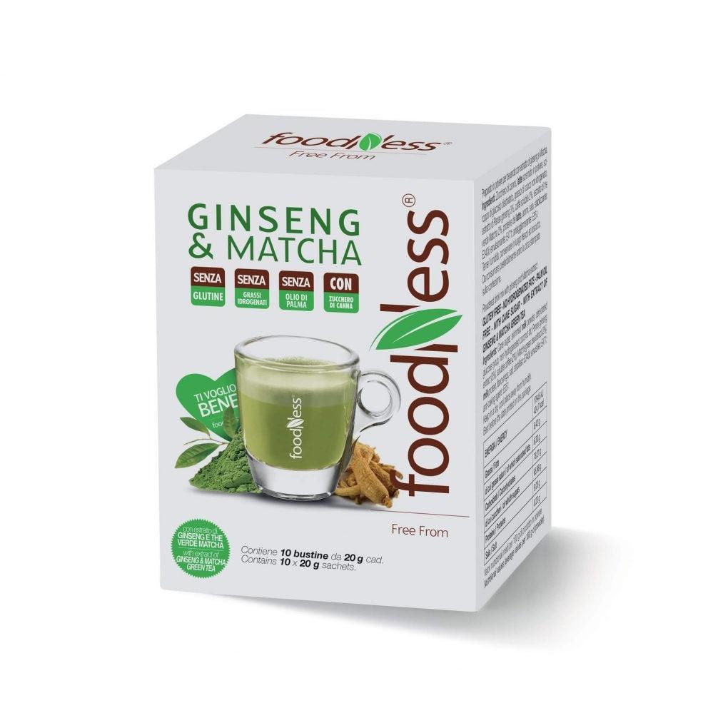 Ginseng Matcha Foodness فودنيس الجينسنغ وماتشا Kaif