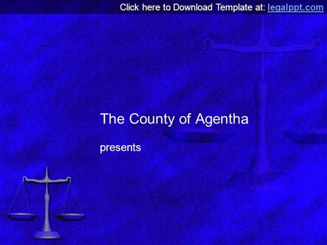 Scales Of Justice Free Law Powerpoint Template Authorstream