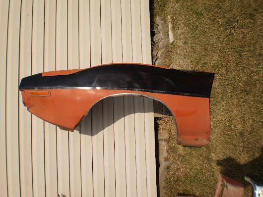 1971-74 AMC Javelin AMX Drivers Side Front Fender LH RARE 71 72 73 74 - $300