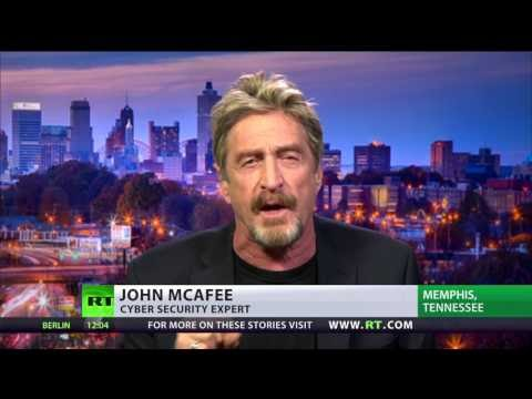 Cybersecurity legend McAfee on Russian hack evidence The Senate Intelligence Committee held a rare open...