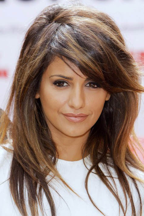 Chestnut Brown Hair Color With Caramel Highlights Hair Color