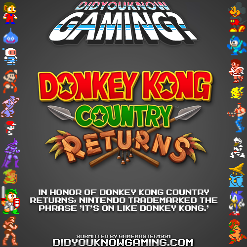 Donkey Kong Country Returns. ...