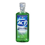 Johnson And Johnson Act Anticavity Fluoride Rinse Mint - 18 Oz