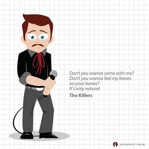 The Killers • Qual é a música?
