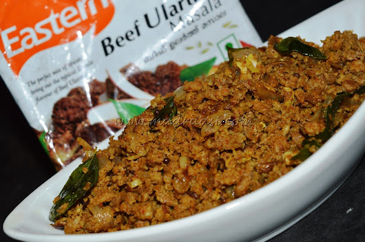 Minced Meat with Eastern Condiments – BEEF ULARTHU Masala
