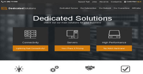 Dedicated Solutions discount coupons (5 Available) dedicatedsolutions.com