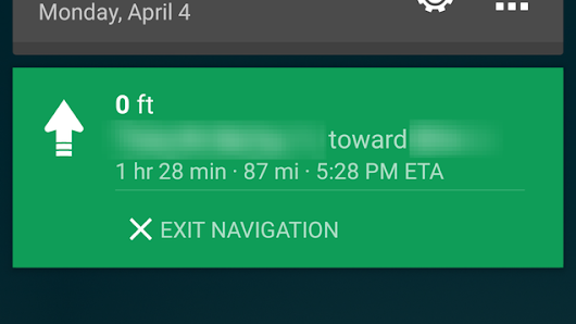 Google Maps Gets New Navigation Notification, Automatic Map Downloads, More