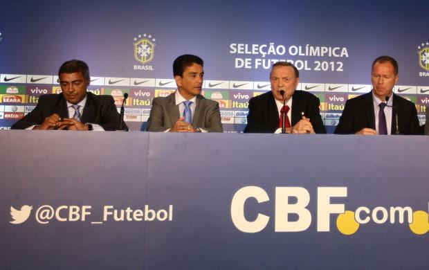 mano menezes romario bebeto seleção brasileira (Foto: Mowa Press)