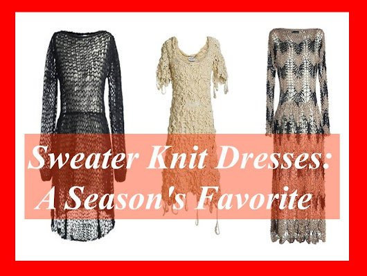 Sweater Knit Dresses: A Season's Favorite