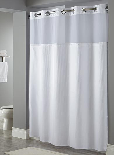 Hookless Shower Curtains Arcs Angles
