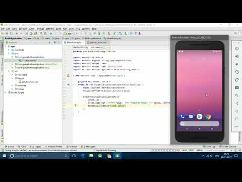 Using Button in Kotlin | Android