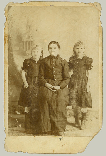 Woman and two girls