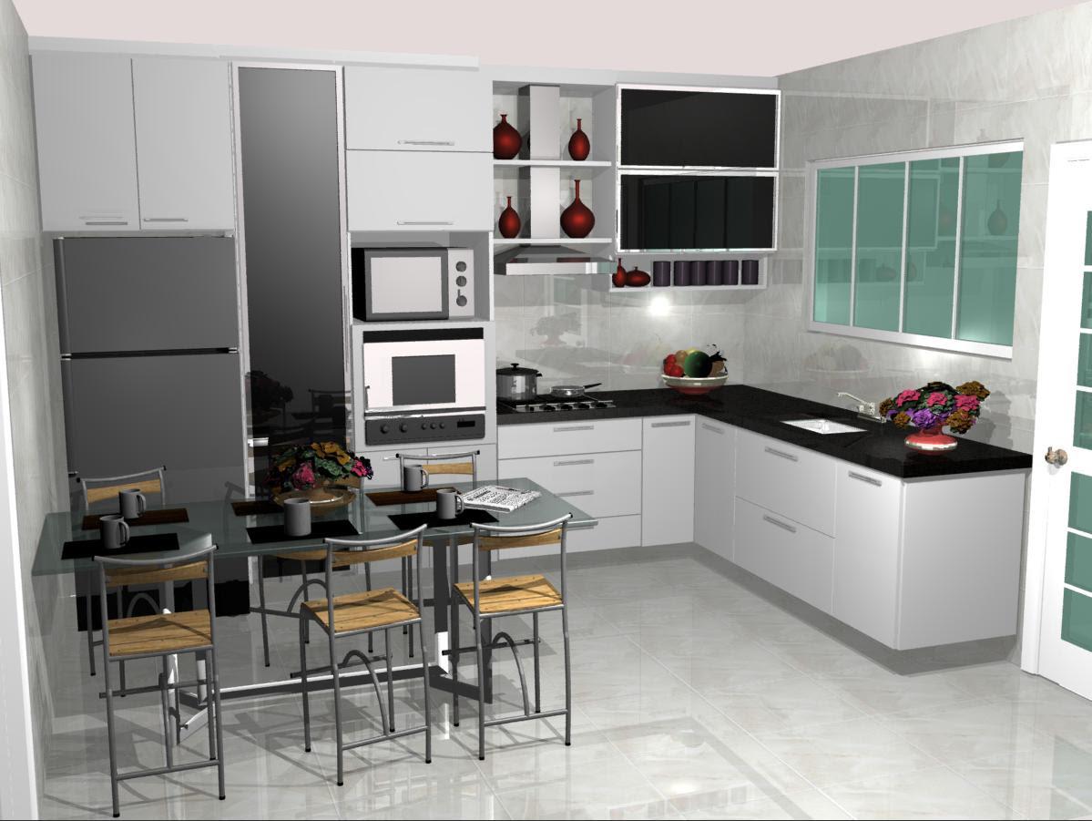 cozinhas planejadas pequenas 4