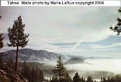 Lake Tahoe Mists