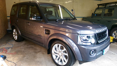 KubeBond Diamond 9H Ceramic Paint Protection - Land Rover Discovery