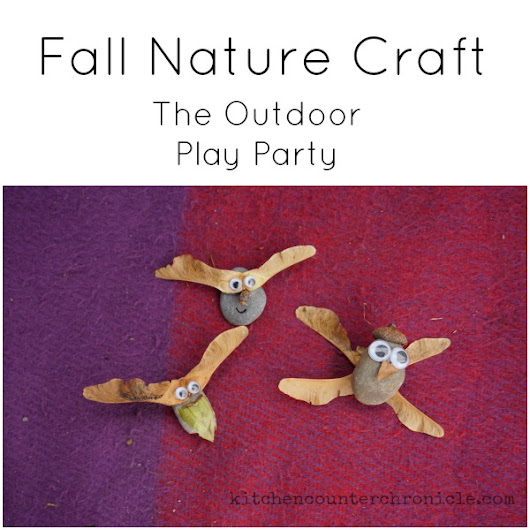 Fall Nature Crafts - The Outdoor Play Party
